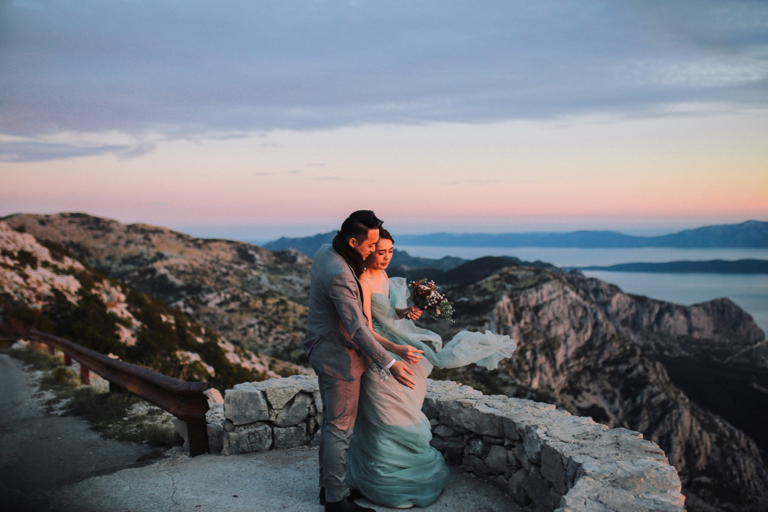Croatia Biokovo nature park elopement jeannette nigel love and ventures photography 43 | Croatia Elopement Photographer and Videographer