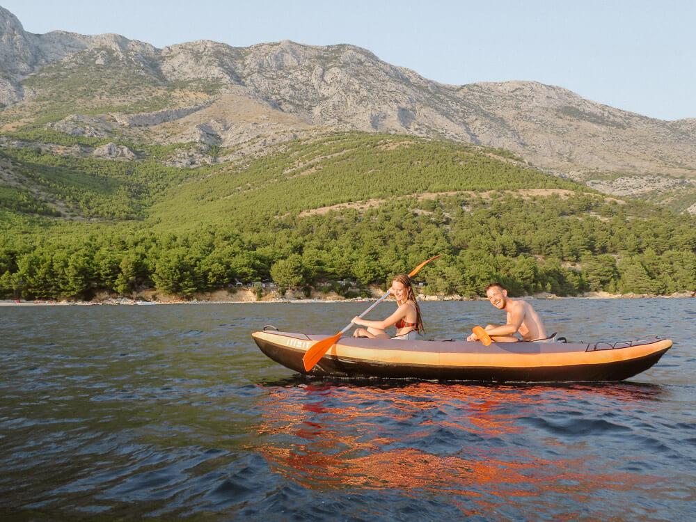 Kayaking adventure photosession croatia love and ventures photography 04 | Croatia Elopement Photographer and Videographer