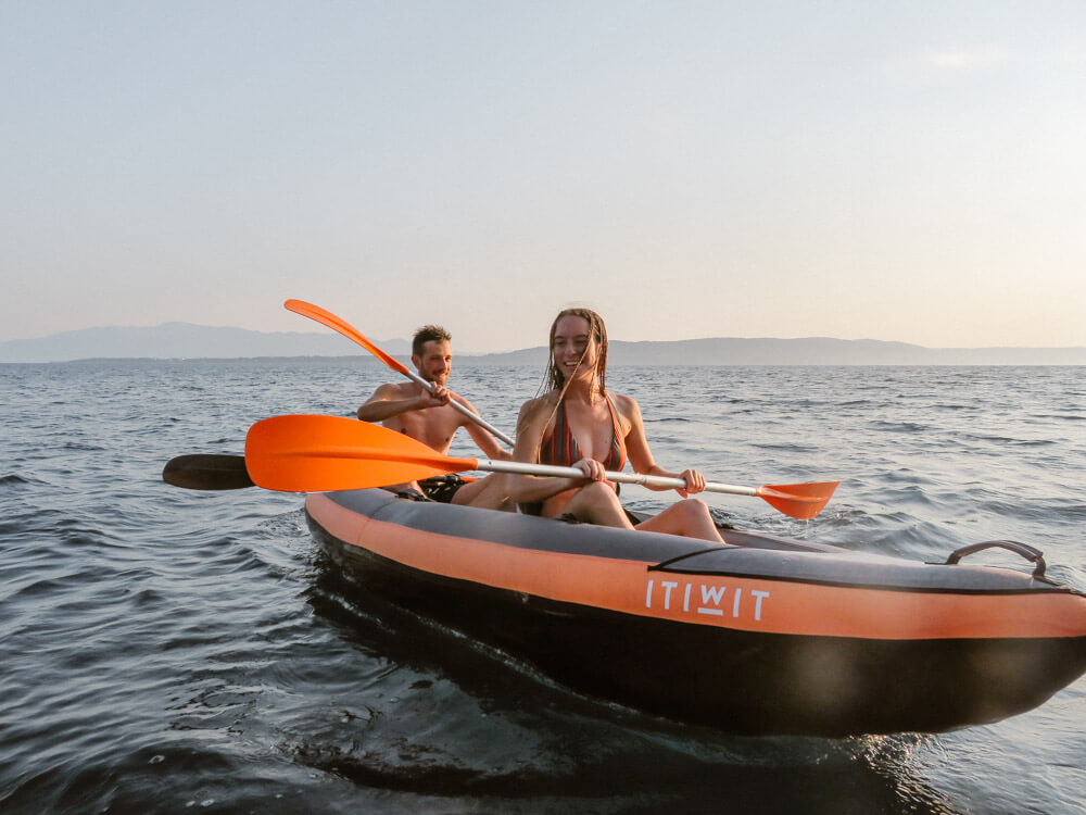 Kayaking adventure photosession croatia love and ventures photography 05 | Croatia Elopement Photographer and Videographer