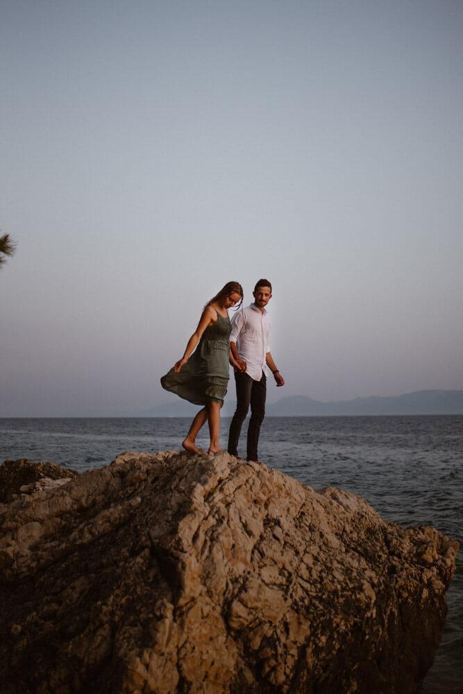 Kayaking adventure photosession croatia love and ventures photography 13 | Croatia Elopement Photographer and Videographer