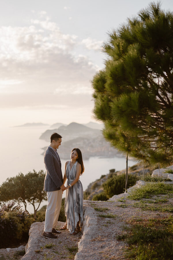 Park Orsula Engagement Dubrovnik Por Ken Love and Ventures Photographer 06 | Croatia Elopement Photographer and Videographer