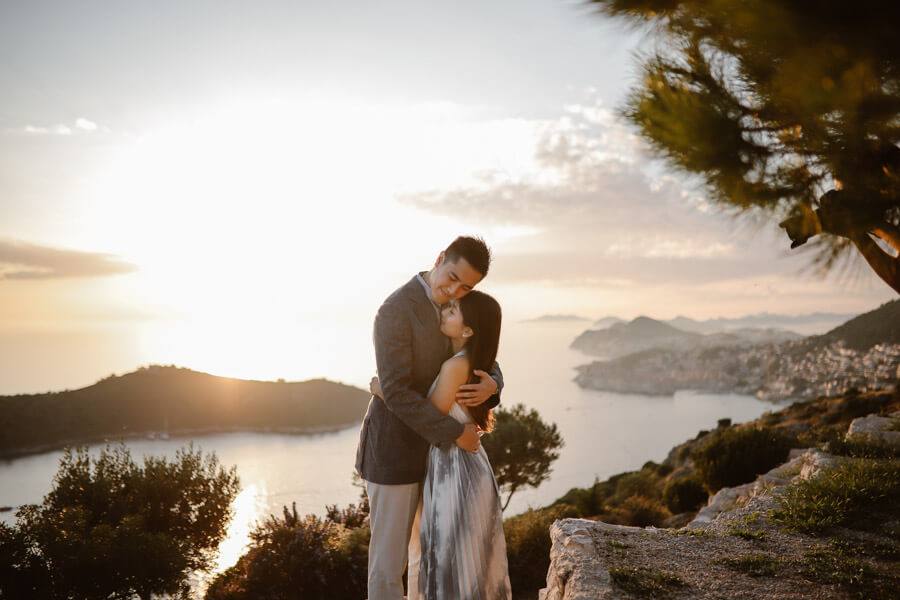 Park Orsula Engagement Dubrovnik Por Ken Love and Ventures Photographer 07 | Croatia Elopement Photographer and Videographer