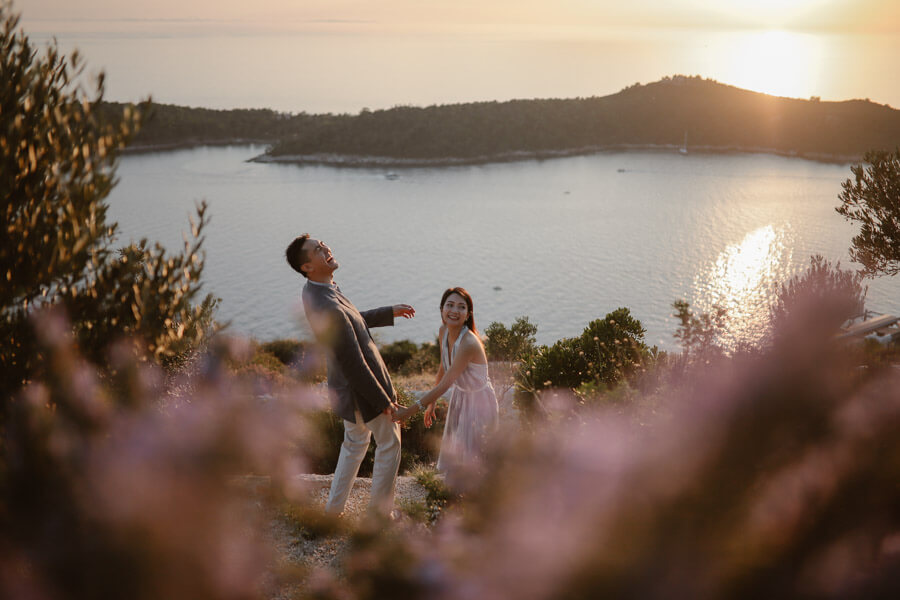 Park Orsula Engagement Dubrovnik Por Ken Love and Ventures Photographer 10 | Croatia Elopement Photographer and Videographer