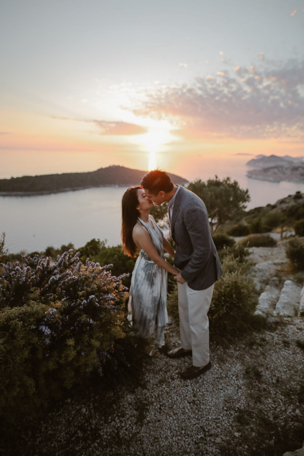 Park Orsula Engagement Dubrovnik Por Ken Love and Ventures Photographer 12 | Croatia Elopement Photographer and Videographer