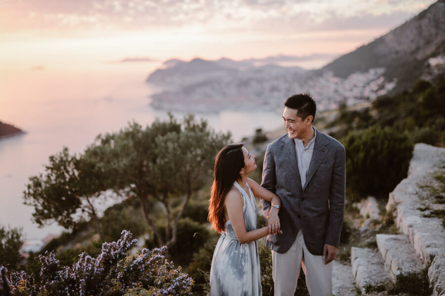 Park Orsula Engagement Dubrovnik Por Ken Love and Ventures Photographer 14 | Croatia Elopement Photographer and Videographer