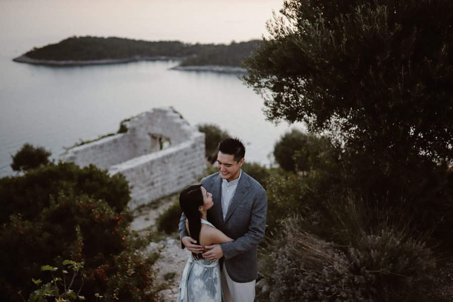 Park Orsula Engagement Dubrovnik Por Ken Love and Ventures Photographer 17 | Croatia Elopement Photographer and Videographer