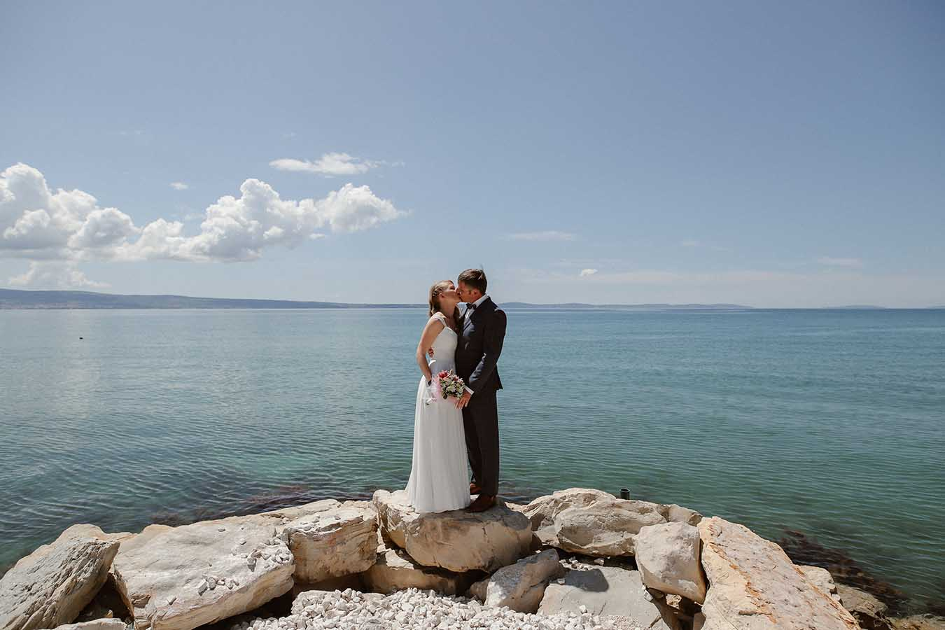 hilke thomas beach elopement wedding croatia | Croatia Elopement Photographer and Videographer
