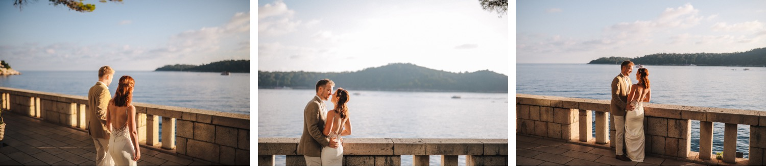 villa dubrovnik sea elopement love and ventures photography 06 | Croatia Elopement Photographer and Videographer