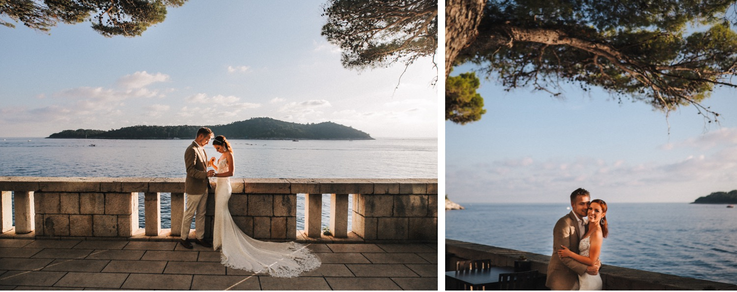 villa dubrovnik sea elopement love and ventures photography 11 | Croatia Elopement Photographer and Videographer