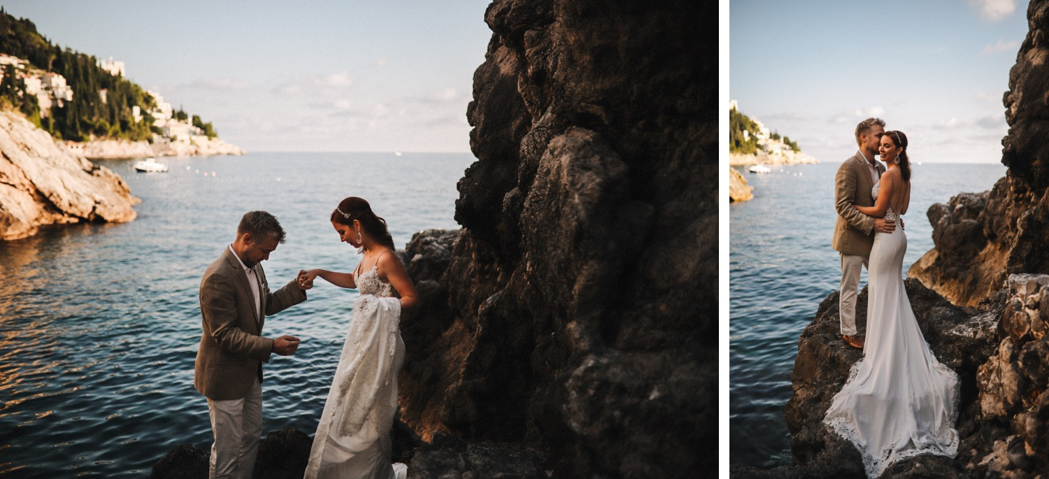 villa dubrovnik sea elopement love and ventures photography 20 | Croatia Elopement Photographer and Videographer