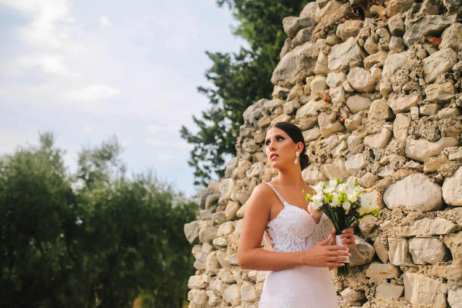 Wedding reception and photoshooting on salona site 033 | Croatia Elopement Photographer and Videographer