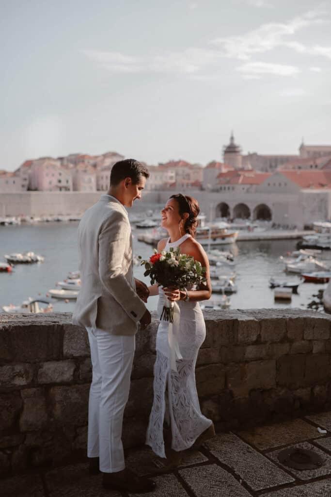 Dubrovnik karaka boat elopement matea stephan 1 | Croatia Elopement Photographer and Videographer