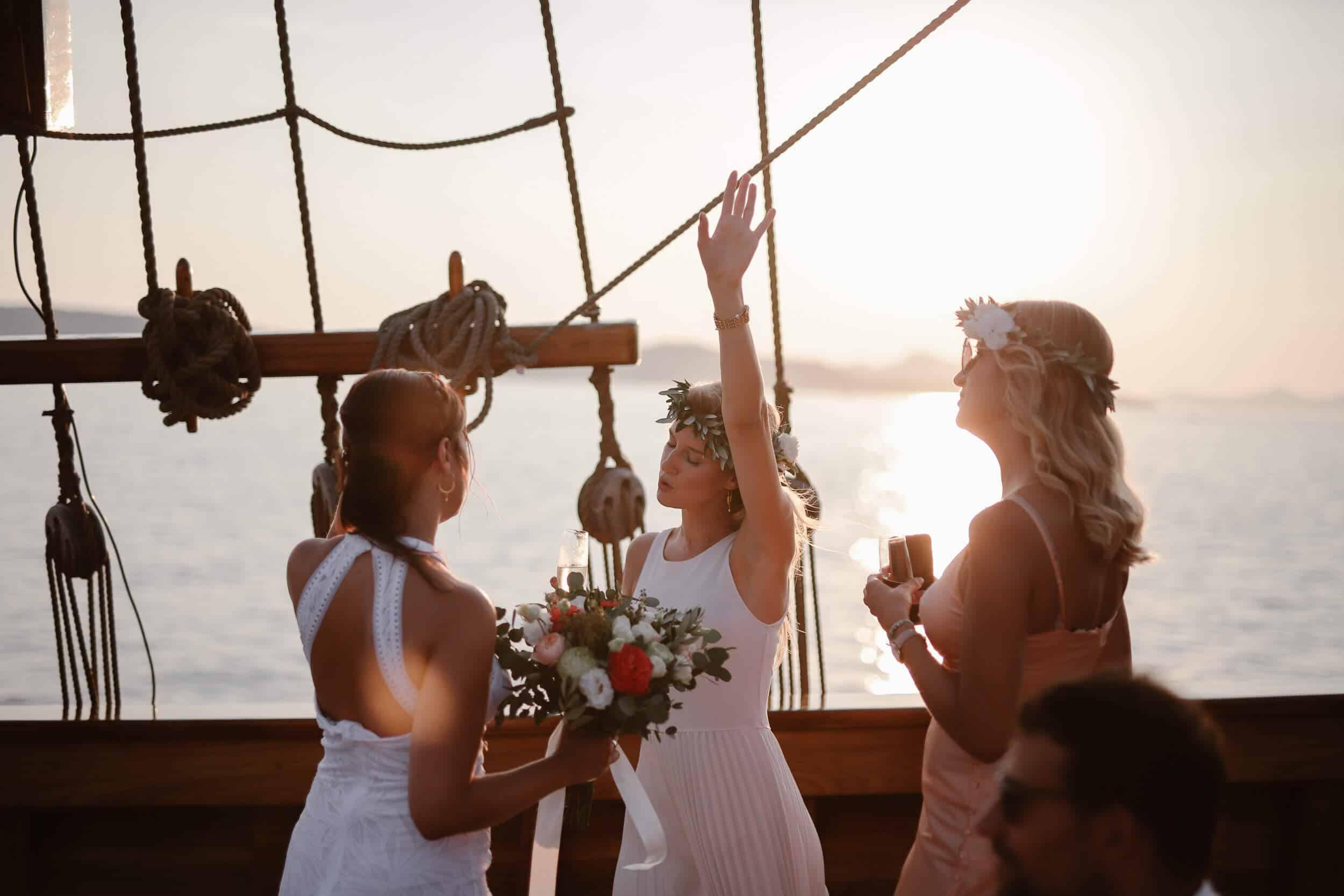 Dubrovnik karaka boat elopement matea stephan 10 | Croatia Elopement Photographer and Videographer