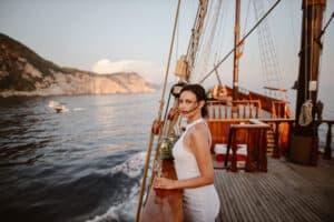 Dubrovnik karaka boat elopement matea stephan 12 | Croatia Elopement Photographer and Videographer