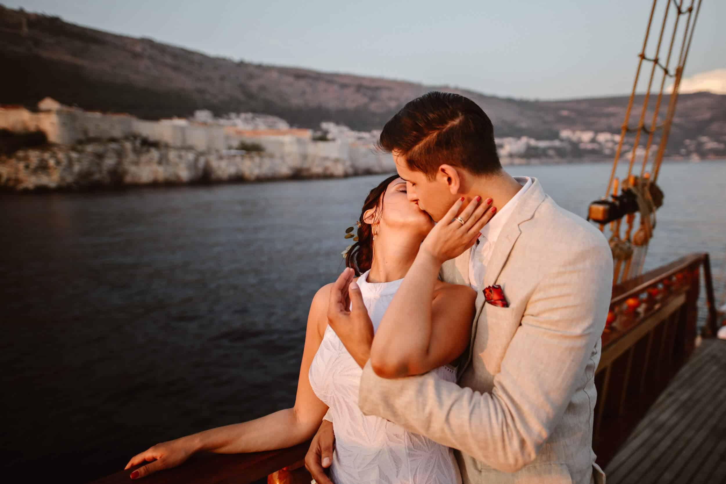 Dubrovnik karaka boat elopement matea stephan 14 | Croatia Elopement Photographer and Videographer