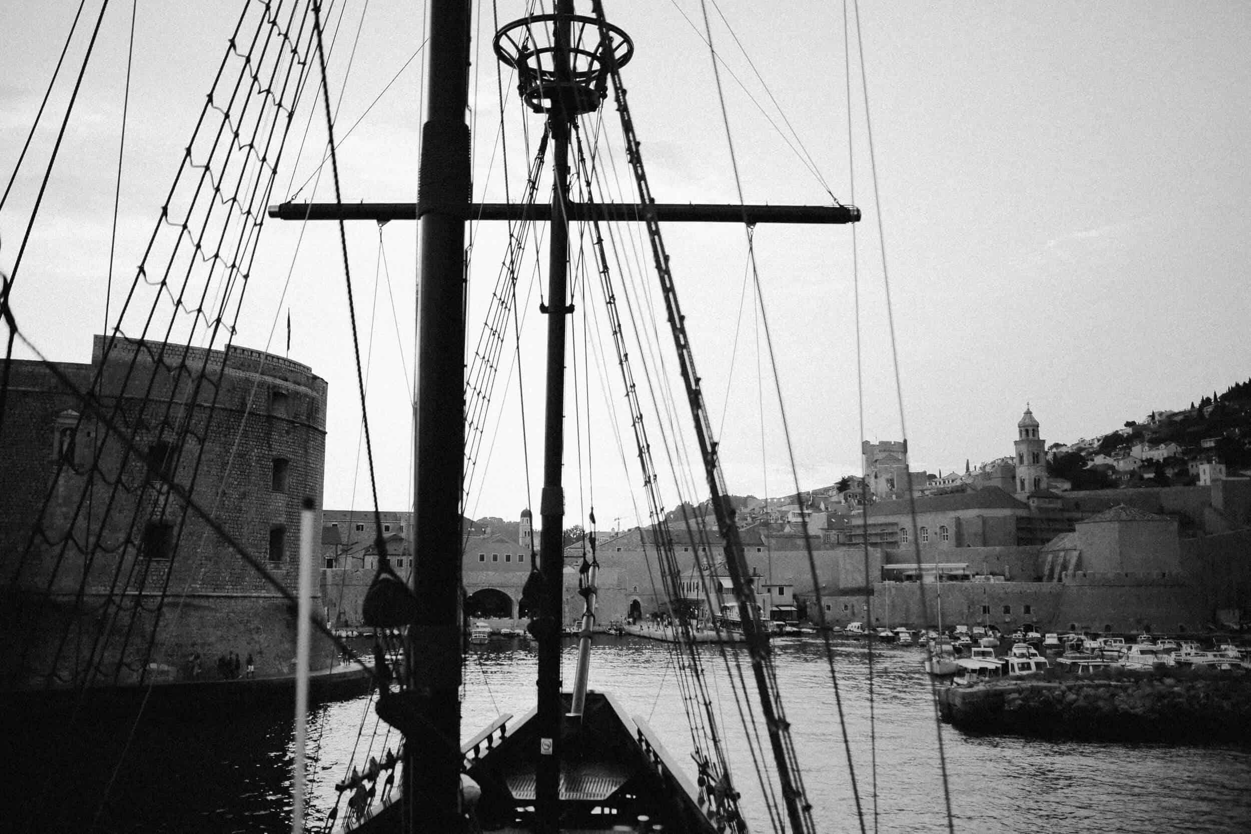 Dubrovnik karaka boat elopement matea stephan 18 | Croatia Elopement Photographer and Videographer