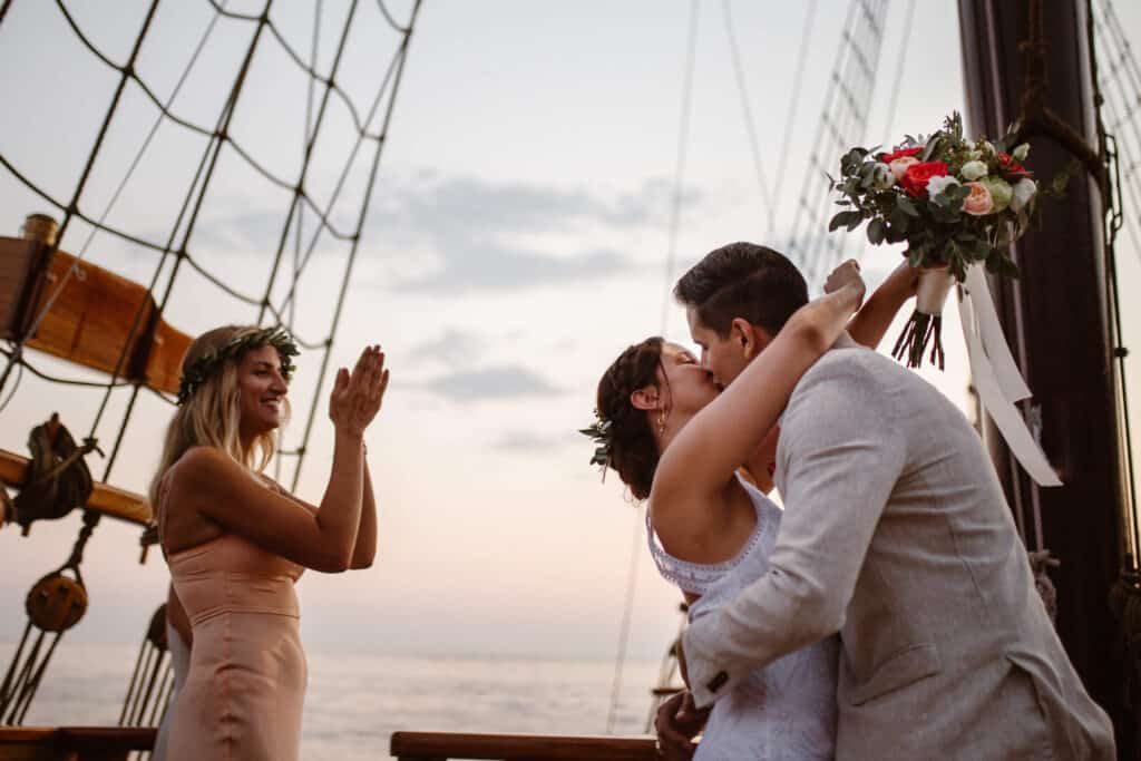 Dubrovnik karaka boat elopement matea stephan 21 | Croatia Elopement Photographer and Videographer