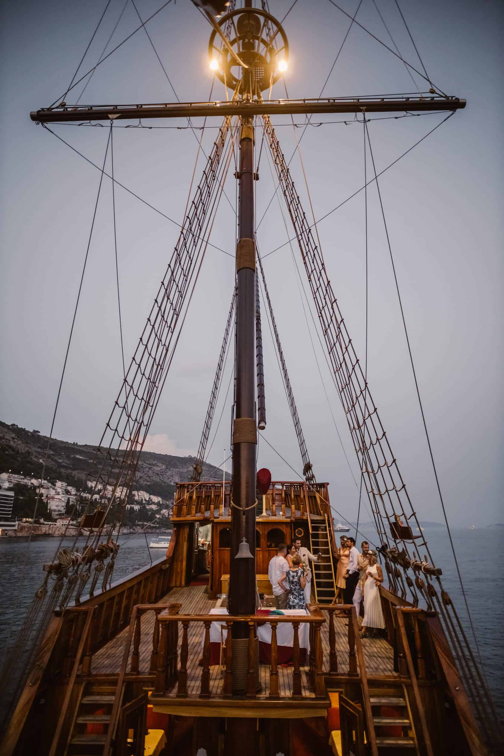 Dubrovnik karaka boat elopement matea stephan 24 | Croatia Elopement Photographer and Videographer