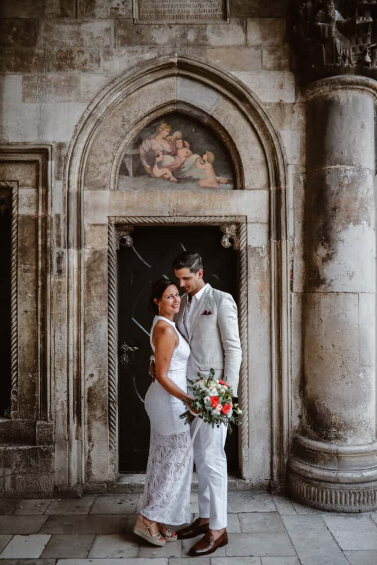 Dubrovnik karaka boat elopement matea stephan 5 | Croatia Elopement Photographer and Videographer