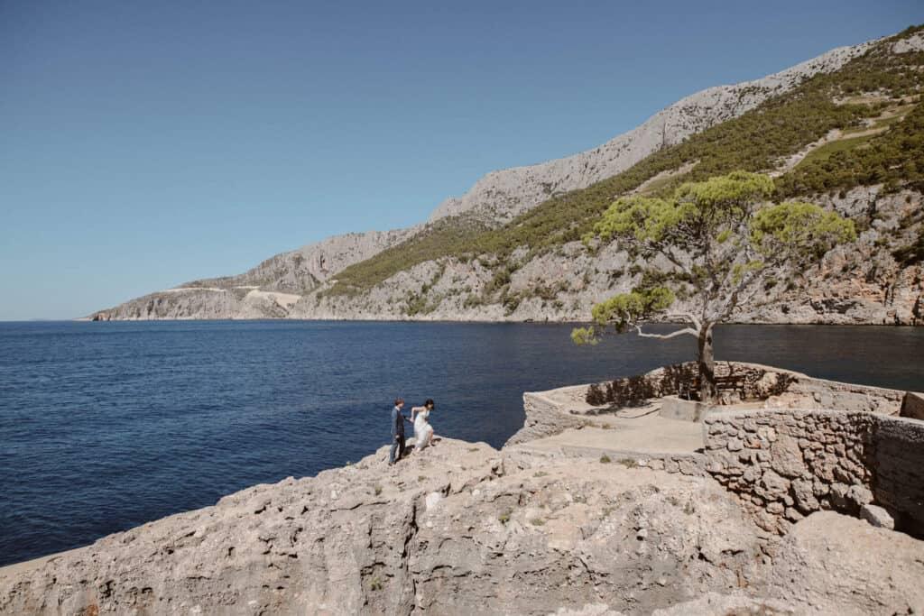 Adventurous Hvar Wedding Elopement Love and Ventures 004 | Croatia Elopement Photographer and Videographer