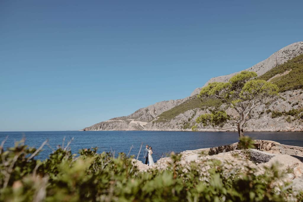 adventurous Hvar wedding of Jessica and Mike in St. Nedjelja. Photo by Love and Ventures